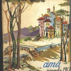 Libros de segunda mano: AMA - AGENDA REVISTA AMA 1967. Lote 26234345