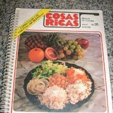 Libros de segunda mano: COMIDAS LIVIANAS PARA EL VERANO - COSAS RICAS - REVISTA DE COCINA - BRASIL - 1982 - RARO!. Lote 23169466