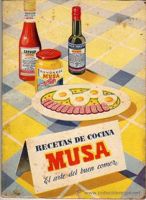 RECETAS DE COCINA MUSA - EL ARTE DE COMER (Libros de Segunda Mano - Cocina y Gastronomía)