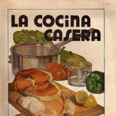 Libros de segunda mano: BUEN LIBRO . LA COCINA CASERA -POR LA DOCTORA FANNY 1945. Lote 24367815