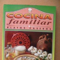 Libros de segunda mano: COCINA FAMILIAR, PLATOS CASEROS.-SERVILIBRO EDICIONES.-1991 . Lote 25607387