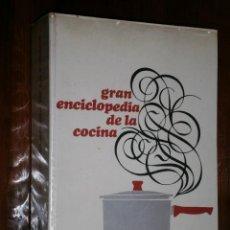 Libros de segunda mano: GRAN ENCICLOPEDIA DE LA COCINA POR CARLO SANTI Y ROSINO BRERA DE CÍRCULO DE LECTORES, BARCELONA 1969. Lote 25945028