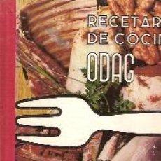 Libros de segunda mano: RECETARIO DE COCINA MODERNA. 252 RECETAS. ODAG (BARCELONA, 1966), HANS E. BÄHR. Lote 26723969