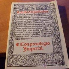 Libros de segunda mano - LIBRO DE GUISADOS MANJARES Y POTAJES CON PRIVILEGIO IMPERIAL ( RUPERTO NOLA ) ( LE1') - 27884654