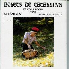 Libros de segunda mano: BOLETS DE CATALUNYA IX. COL·LECCIÓ 1990. Lote 28065596