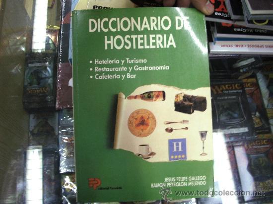 Diccionario Cocina | Diccionario De Hosteleria Jesus Felipe Galleg Comprar Libros