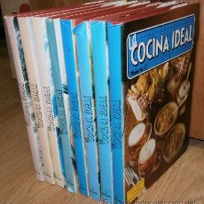 Libros de segunda mano: LA COCINA IDEAL 8T (OBRA COMPLETA) POR J. DOMINGO, VÍCTOR GARCÍA Y OTROS DE ED. PLANETA MADRID 1983. Lote 147783797
