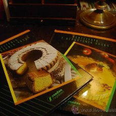 Libros de segunda mano - Confiteria y reposteria vasca. Ed. Sendoa, 1987, 2 volumenes - 29044568