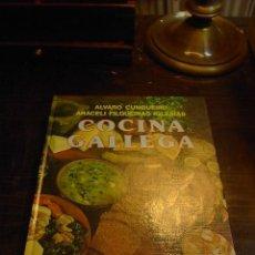 Libros de segunda mano: ALVARO CUNQUEIRO, COCINA GALLEGA, ED. EVEREST, 1982. Lote 113168631