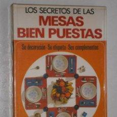Libros de segunda mano: LOS SECRETOS DE LAS MESAS BIEN PUESTAS POR RENÉE CHRISTIAN DE ED. EL MUEBLE EN BARCELONA 1969 2ª ED. Lote 29354665