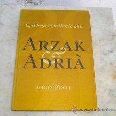 Libros de segunda mano: LIBRO DE COCINA ARKAK ADRIA 2000-01. Lote 41200023