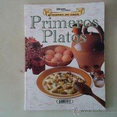 Libros de segunda mano: PRIMEROS PLATOS. Lote 31232351