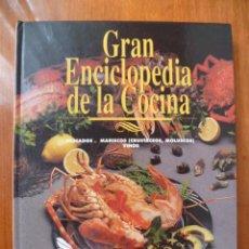 Libros de segunda mano: GRAN ENCICLOPEDIA DE LA COCINA PESCADOS MARISCOS VINOS. Lote 31560939