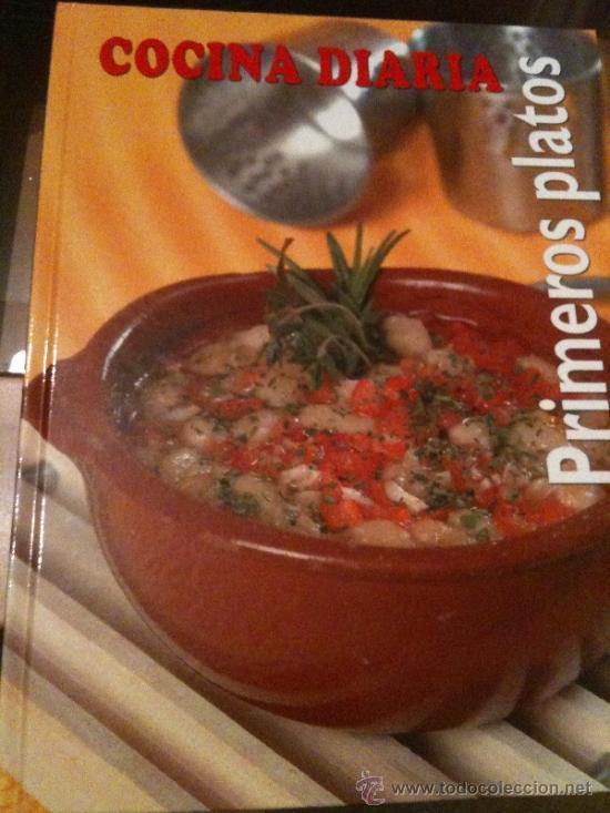 cocina diaria-primeros platos- gran formato,ilu - Comprar Libros de ...