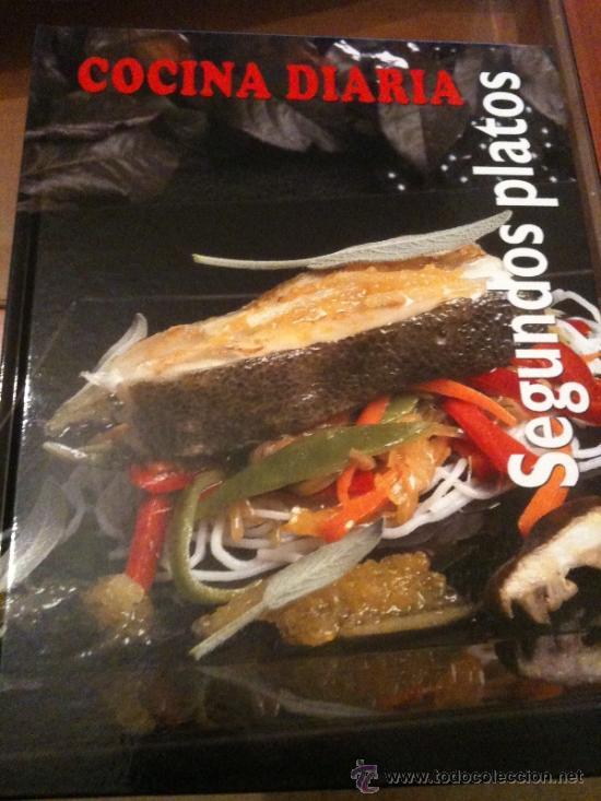 cocina diaria-segundos platos- gran formato,ilu - Comprar Libros de ...