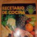 Libros de segunda mano: RECETARIO DE COCINA PARA LA DIETA DE SILUETA Y SALUD-ADELGAZAR NO ES COMER MENOS. Lote 140070864