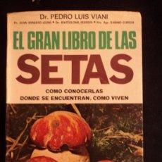 Libros de segunda mano: EL GRAN LIBRO DE LAS SETAS. LUIS VIANI. ED. VECCHI. 1975 244 PAG. Lote 32728826