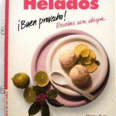 Livres d'occasion: BUEN PROVECHO - HELADOS. Lote 32780989