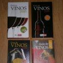Libros de segunda mano: CUATRO GUÍAS PRÁCTICAS DE VINOS 4T DE LA OCU EN MADRID 2007, 2008, 2009 Y 2010. Lote 32794863