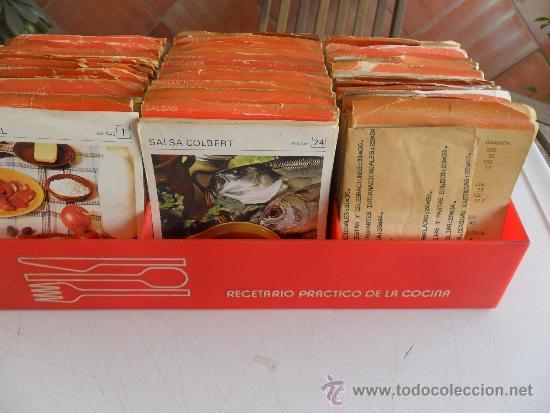 Libros de segunda mano: FICHAS DE COCINA DE SALVAT RECETARIO PRACTICO DE LA COCINA 1974-1975 - Foto 2 - 32982854