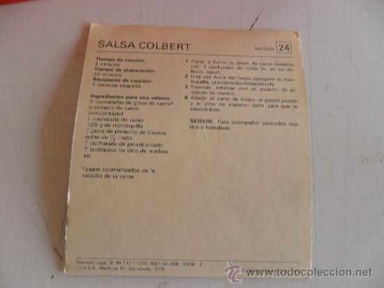 Libros de segunda mano: FICHAS DE COCINA DE SALVAT RECETARIO PRACTICO DE LA COCINA 1974-1975 - Foto 4 - 32982854