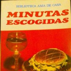 Libros de segunda mano: MINUTAS ESCOGIDAS - G.BERNARD DE FERRER. Lote 33309493