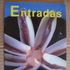 Libros de segunda mano: ENTRADAS - RECETARIO PRÁCTICA DE LA COCÍNA (VÉR FOTOS). Lote 33665805