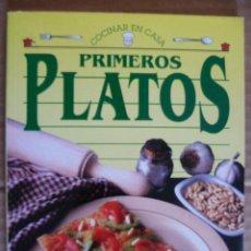 Libros de segunda mano: COCINAR EN CASA. PRIMEROS PLATOS - SERVILIBRO . Lote 33665998