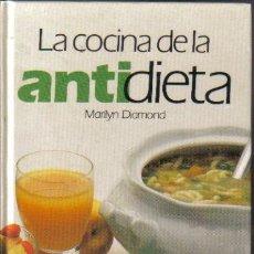 Libros de segunda mano: LA COCINA DE LA ANTIDIETA. MARILYN DIAMOND. CIRCULO DE LECTORES 1990. LITERACOMIC. Lote 33808890