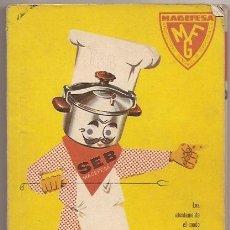 Libros de segunda mano: LIBRO MAGEFESA CON RECETAS DE COCINA. 1961. Lote 34559833