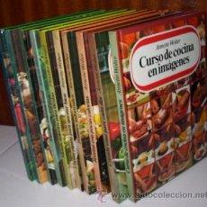 Libros de segunda mano: BIBLIOTECA DE LA COCINA MODERNA COMPLETA 10T POR ANNETTE WOLTER Y OTROS DE CÍRCULO DE LECTORES 1983. Lote 34929884