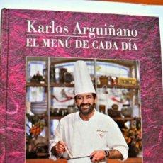 Libros de segunda mano: LIBRO DE RECETAS DE KARLOS ARGUIÑANO. . Lote 34940264
