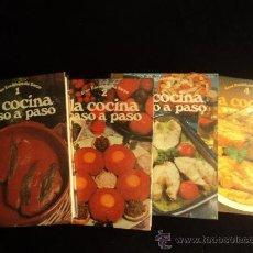 Libros de segunda mano: LA COCINA PASO A PASO. 4 TOMOS. EDITORIAL SARPE. 1977 1600 PAG. Lote 35235993