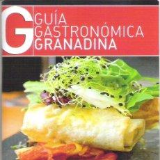 Libros de segunda mano: GUIA GASTRONOMICA DE BOLSILLO - RESTAURANTES DE GRANADA Y PROVINCIA - ACTUALIZADA AÑO 2013. Lote 35568555