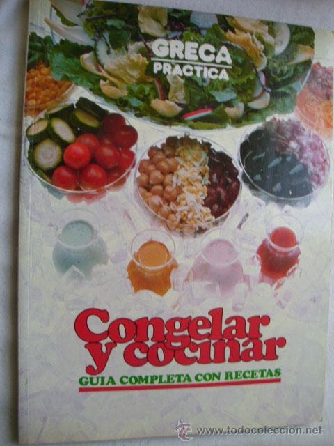 Cocinar Para Congelar | Congelar Y Cocinar 1984 Comprar Libros De Cocina Y Gastronomia