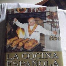 Libros de segunda mano: LA COCINA ESPAÑOLA LIBRO DE ORO DE LA GASTRONOMIA CANDIDO MESONERO MAYOR DE CASTILLA 1970. Lote 36678771