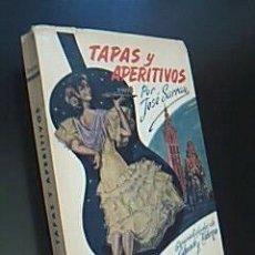 """Libros de segunda mano: TAPAS Y APERITIVOS Y TAMBIÉN """"CAFETERÍA AMERICANA"""" Y SUS ESPECIALIDADES. SARRAU, JOSÉ. 1965. Lote 36987608"""