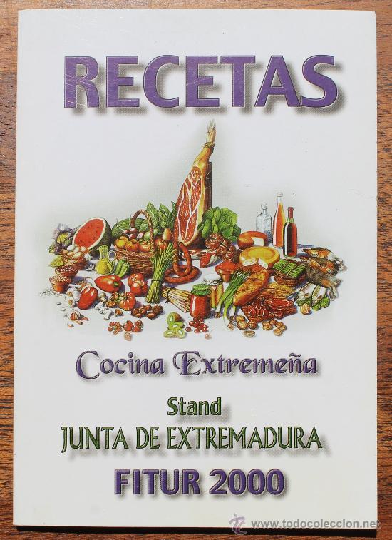 Cocina Extremeña Las Mejores Recetas De Resta Vendido En