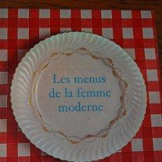 Libros de segunda mano: LES MENUS DE LA FEMME MODERNE / COLETTE LELOU / 1968 / 1ª EDICIÓN. Lote 37292576