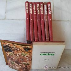 Libros de segunda mano: ENCICLOPEDIA SALVAT DE LA COCINA - AÑO 1972 - 8 TOMOS . Lote 38882783