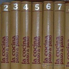 Livres d'occasion: GRAN ENCICLOPEDIA SARPE- LA COCINA PASO A PASO- 8 TOMOS-1977. Lote 38996298