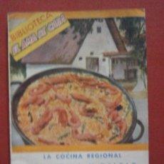 Libros de segunda mano: LA COCINA REGIONAL LEVANTINA Y BALEAR. LAS MEJORES Y MAS TIPICAS RECETAS. ISABEL DE TRÉVIS. Lote 39231293