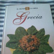 Libros de segunda mano: LIBRO DE COCINA EL MUNDO EN LA MESA GRECIA. DE LA ED PLANETA.. Lote 39419249