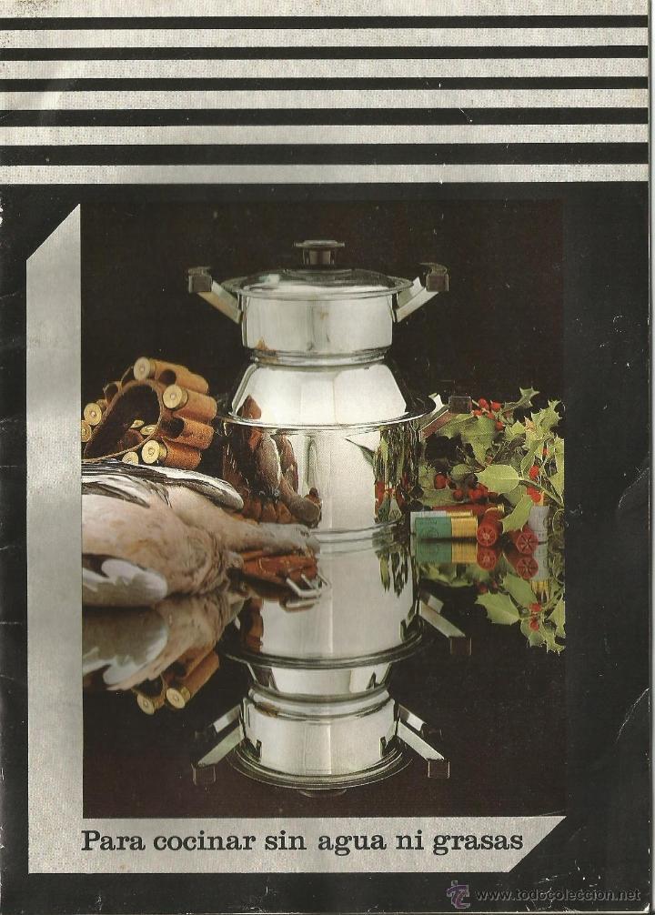 INSTRUCCIONES Y RECETARIO DE BATERÍA COCINA (Libros de Segunda Mano - Cocina y Gastronomía)