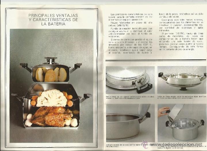 Libros de segunda mano: Instrucciones y recetario de batería cocina - Foto 4 - 39488351
