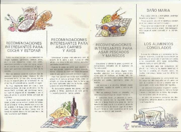 Libros de segunda mano: Instrucciones y recetario de batería cocina - Foto 3 - 39488351