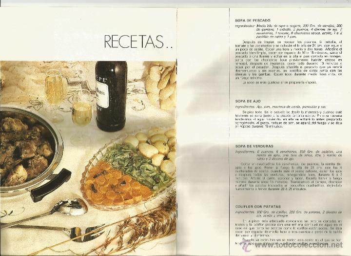 Libros de segunda mano: Instrucciones y recetario de batería cocina - Foto 2 - 39488351