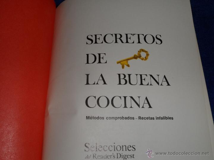 Libros de segunda mano: Secretos de la buena cocina - Selecciones del Readers Digest (1978) - Foto 2 - 39829724