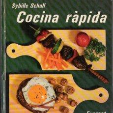 Libros de segunda mano: COCINA RAPIDA. Lote 40105739