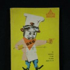 Libros de segunda mano: POR AQUÍ LA BUENA COCINA A LA MANERA DE FRANCOISE BERNARD SEB MAGEFESA. Lote 40321043